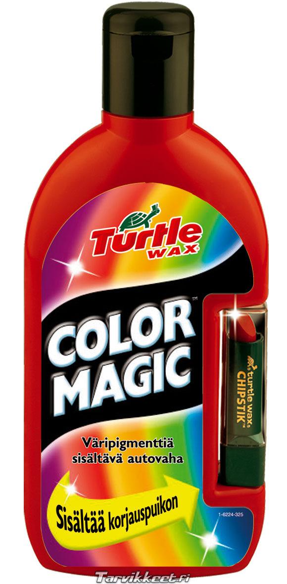 Turtle wax color magic kokemuksia