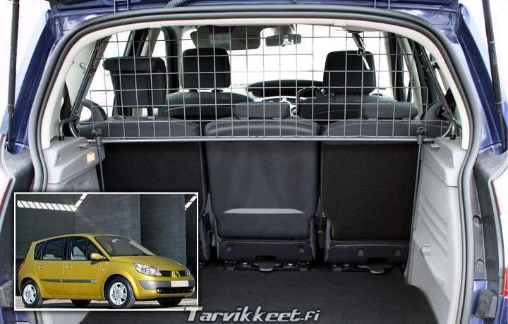 koiraverkko renault scenic 2003 2009 tt 207 00 eur. Black Bedroom Furniture Sets. Home Design Ideas