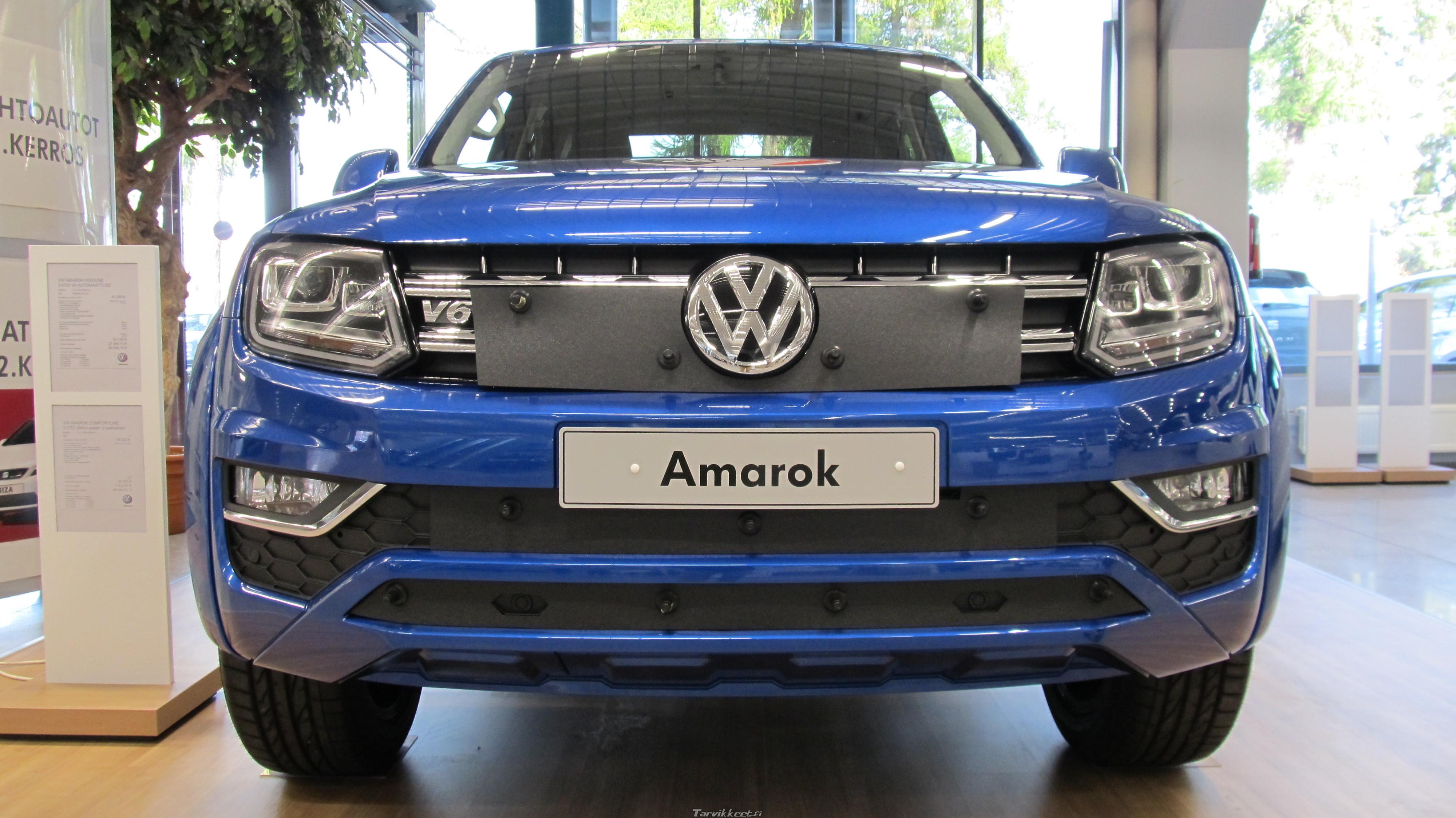 Volkswagen Amarok 2017 >> Maskisuoja Vw Amarok 2017 50 00 Eur Tarvikkeet Fi