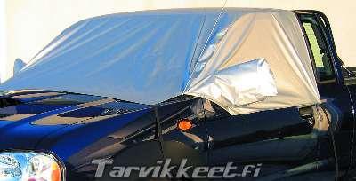 Tuulilasin suojapeite pakettiautoon
